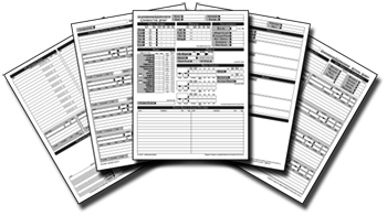graphic about 3.5e Character Sheet Printable referred to as Persona Sheets by way of Angille