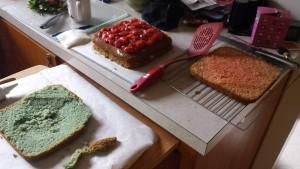cake in progress